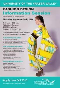 UFV Fashion Info-session_